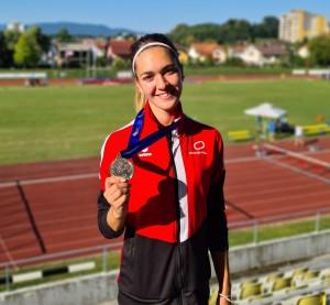 Ajda Kaučič - 2. mesto na 100m